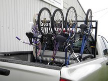 Fits up to 5 bikes!
